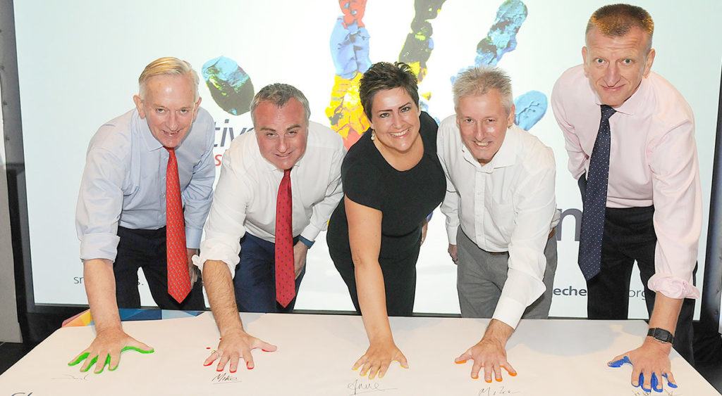 Active Cheshire VIP's I'm In Handprint - Part of the MOVEment 2