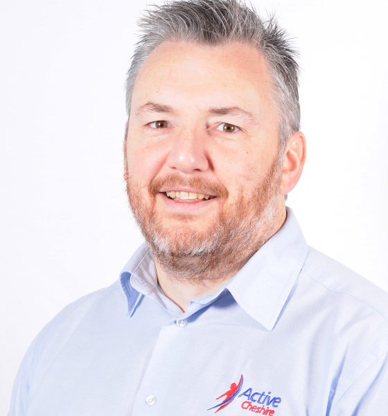 Mark Bamford Organisational Officer, Active Cheshire